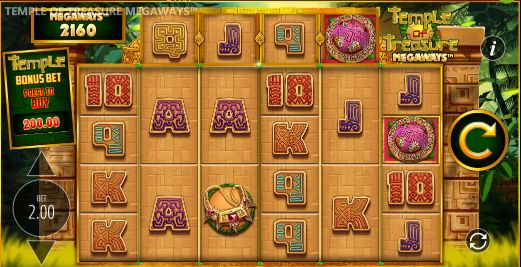Temple of Treasure Megaways Casino Slots