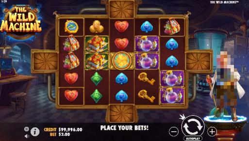 The Wild Machine Casino Slots