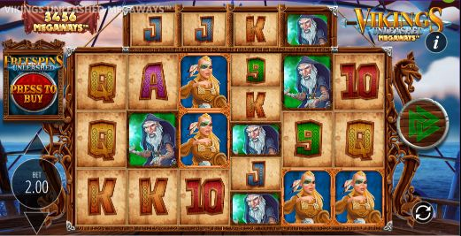 Vikings Unleashed Megaways Casino Slots