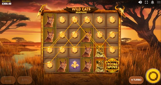Wild Cats Multiline Casino Slots