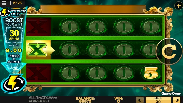 All That Cash Power Bet Casino Slots