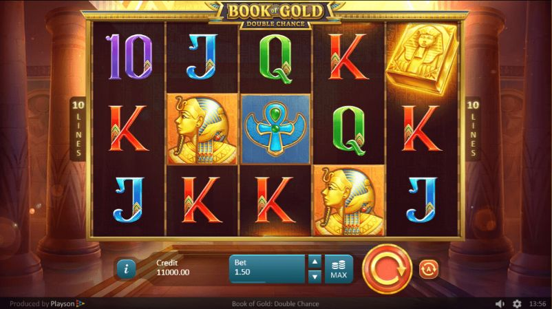 Book of Gold: Double Chance Casino Slots