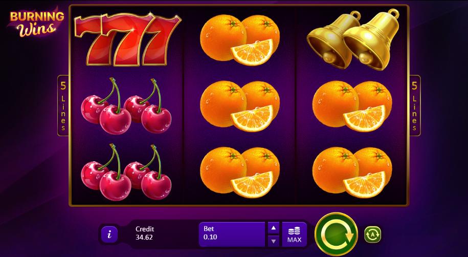 Burning Wins Casino Slots