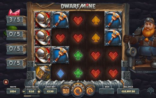 Dwarf Mine Casino Slots