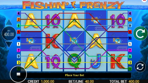 Fishin Frenzy Megaways Casino Slots
