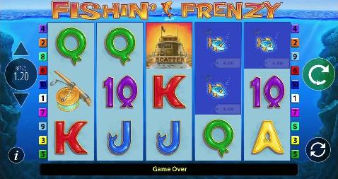 Fishin Frenzy Casino Slots