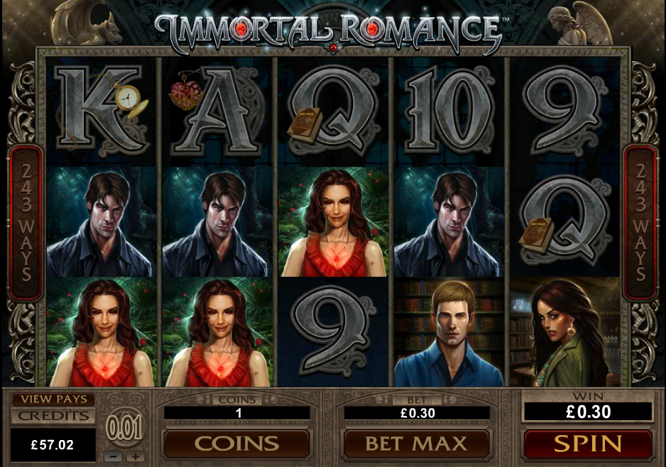 Immortal Romance Casino Slots