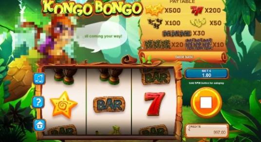 Kongo Bongo Casino Slots
