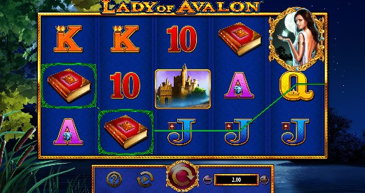 Lady of Avalon Casino Slots