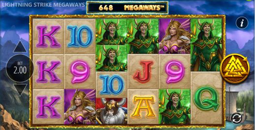 Lightning Strike Megaways slots casino