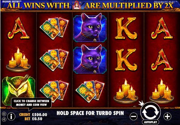 Madame Destiny Casino Slots