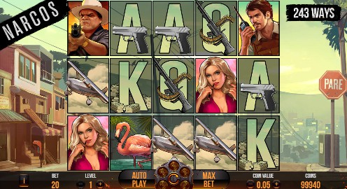 Narcos Casino Slots