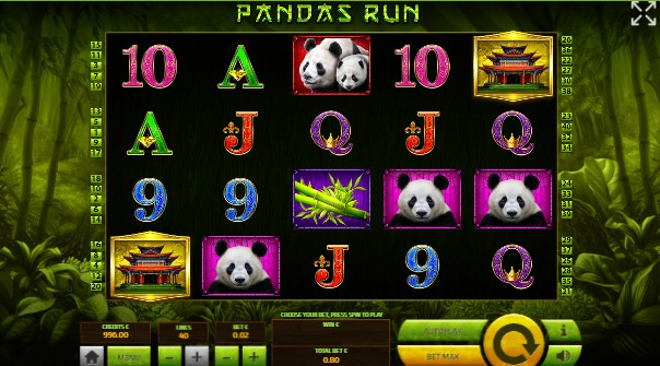 Pandas Run Casino Slots