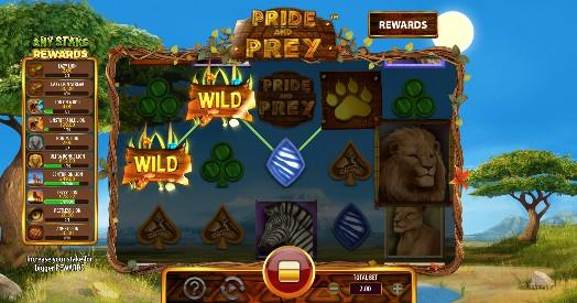 Pride and Prey Casino Slots