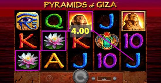 Pyramids of Giza Casino Slots