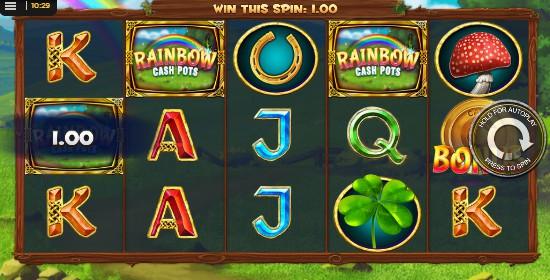 Rainbow Cash Pots Casino Slots