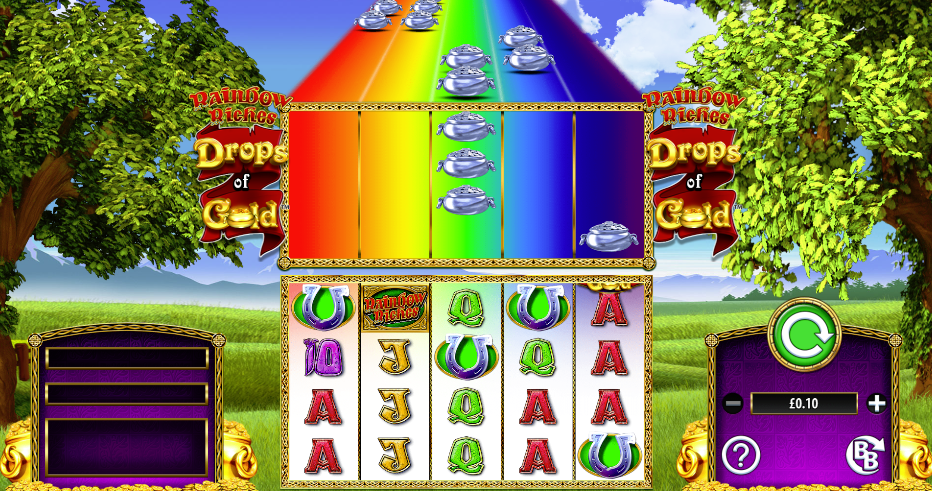 Rainbow Riches: Drops of Gold slot casino