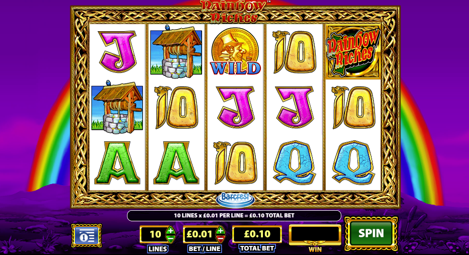 Rainbow Riches Casino Slots