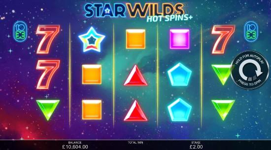 Star Wilds Hot Spins Casino Slots