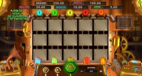 The Gem Machine Casino Slots