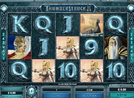 Thunderstruck II Casino Slots