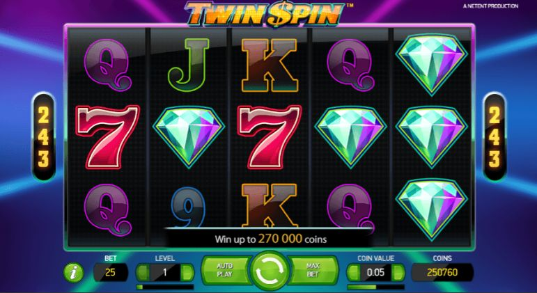 Twin Spin Casino Slots