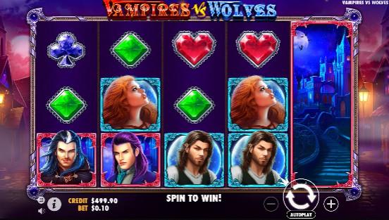 Vampires vs Wolves Casino Slots