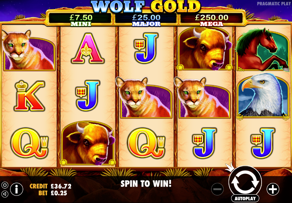 Wolf Gold Casino Slots
